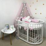 Бортики для детской кровати