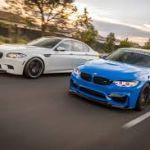 Братья по оружию - BMW M3 и M5