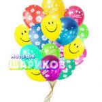 Декорация воздушными шарами