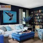 Голубой цвет и оптимальное использование его в интерьере