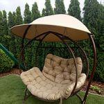 Качели-коконы – интересный элемент дизайна и удобное место для отдыха