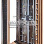 установить металлические двери в холл