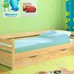 Одноярусные детские кроватки