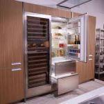 Преимущества и особенности встраиваемых холодильников