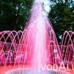 Строительство городского фонтана