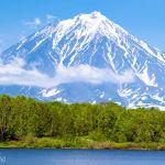 Вулкан Корякский или один из опасных вулканов мира
