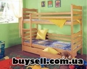 двухъярусные кровати-трансформеры из дерева изображение 2