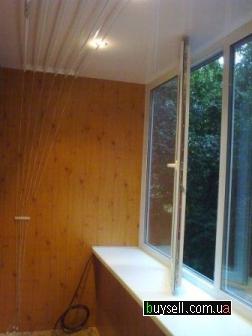 Деревянные балконные блоки,  балконная дверь,  выход на балкон изображение 2