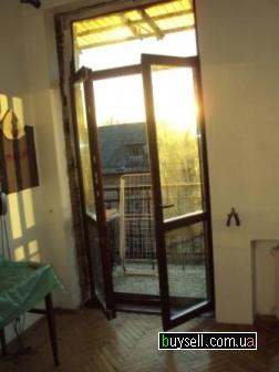 Деревянные балконные блоки в рассрочку,  балконная дверь,  выход на ба