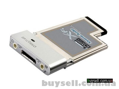Звукова карта Creative Sound Blaster X-Fi Xtreme Audio Notebook