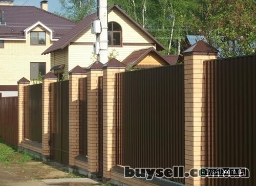 Забор из сетки,  забор из профнастила (Киев,  Киевская область) изображение 3