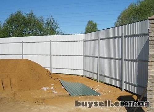 Забор из сетки,  забор из профнастила (Киев,  Киевская область) изображение 2