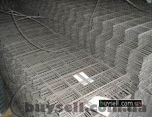 Сетка армирующая  100х100,    150х150,    200х200,    100х200 в картах