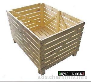 контейнеры овощные деревянные