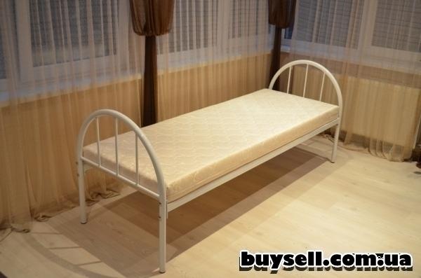 кровати металлические для общежитий изображение 2