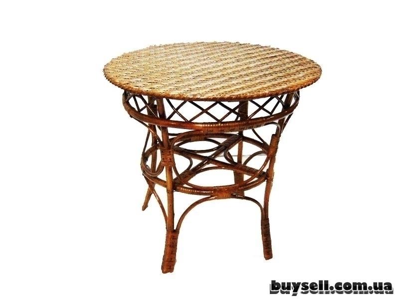 Плетеная мебель изображение 3
