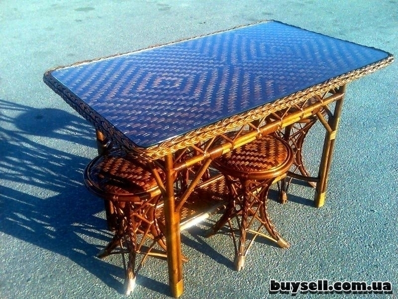 Плетеная мебель изображение 4