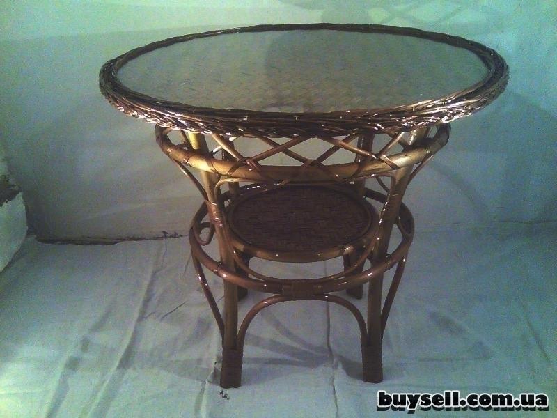 Плетеная мебель изображение 2