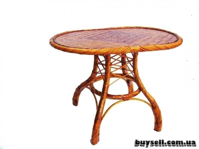 Плетеная мебель изображение 5
