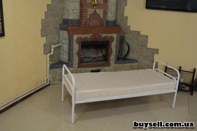 кровати металлические для общежитий изображение 3