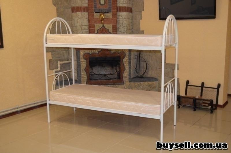 Кровати металлические двухъярусные для хостелов.