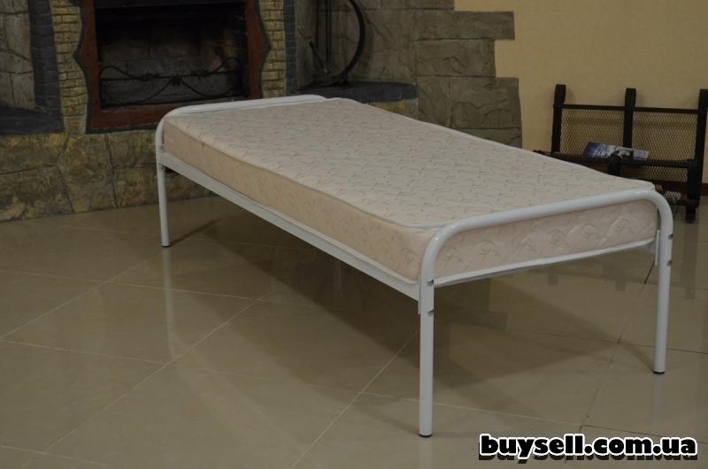 Кровати металлические для рабочих изображение 3
