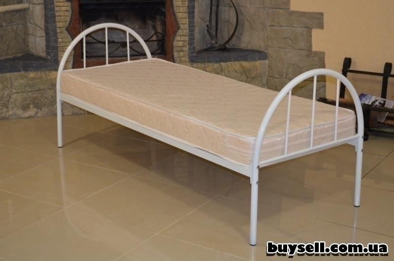 Кровати металлические для рабочих изображение 2