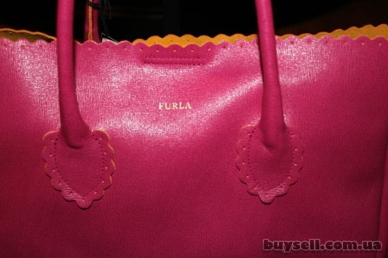 Сумка Furla Futura Rosada Leather Shopper,  оригинал изображение 2