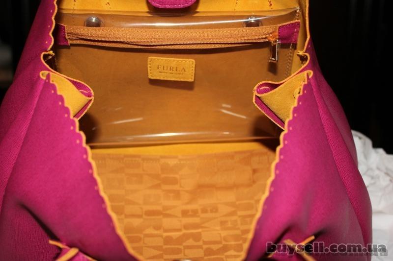 Сумка Furla Futura Rosada Leather Shopper,  оригинал изображение 3