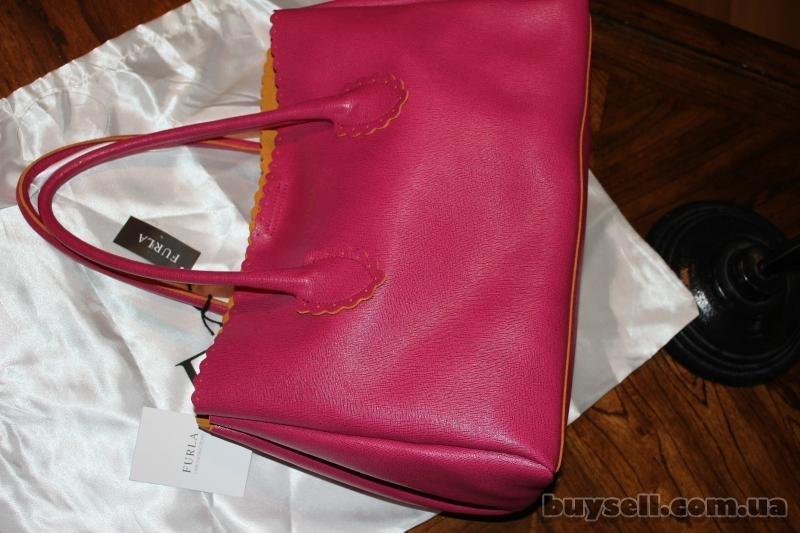 Сумка Furla Futura Rosada Leather Shopper,  оригинал изображение 5