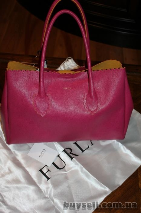 Сумка Furla Futura Rosada Leather Shopper,  оригинал