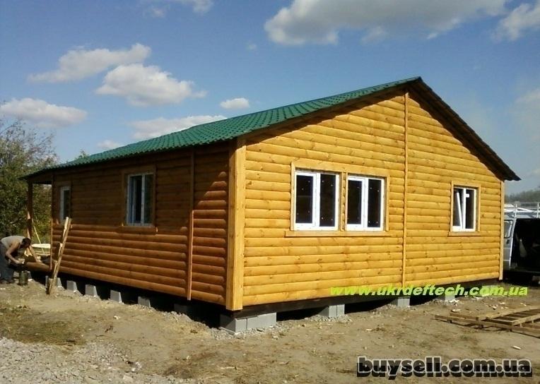 Дачные домики,        бытовки из дерева. изображение 2