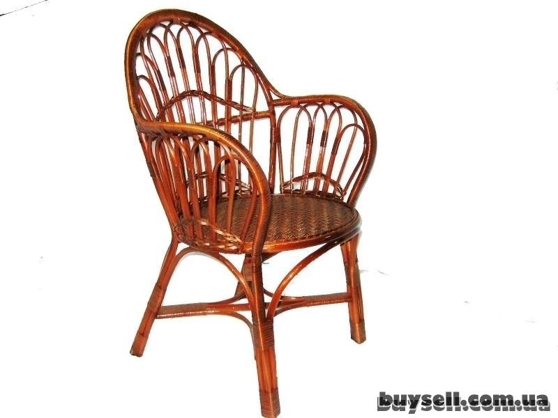 """Кресло плетеное из лозы """"Лабиринт"""" изображение 2"""