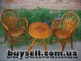 """Кресло плетеное из лозы """"Лабиринт"""" изображение 4"""