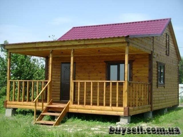 Дачные домики,        бытовки из дерева. изображение 5