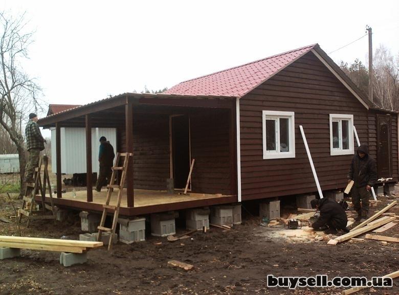 Дачные домики из дерева.    Бытовки. изображение 3