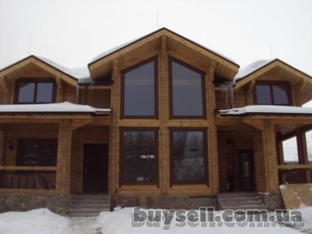 Деревянные окна для деревянного дома.   деревянные окна со стеклопакет изображение 2