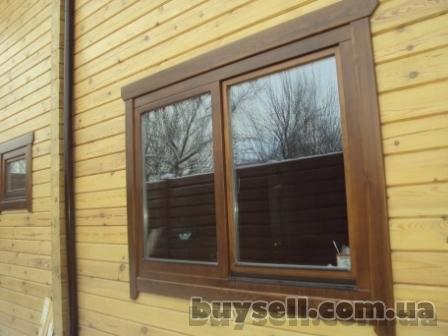 Деревянные окна для деревянного дома.   деревянные окна со стеклопакет