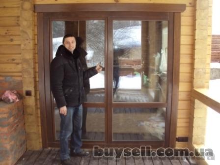 Деревянные окна для деревянного дома.   деревянные окна со стеклопакет изображение 3