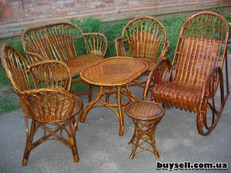 Мебель плетеная из лозы.