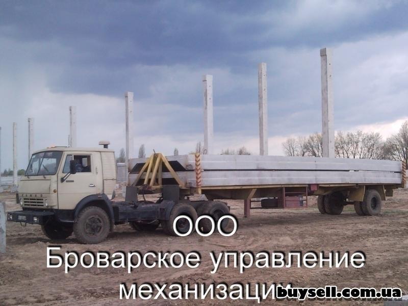 Грузоперевозки строительных конструкций Бровары и Киевская область. изображение 2