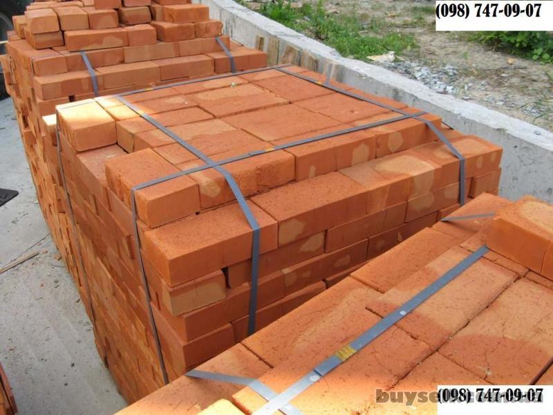 Кирпич с доставкой,   полнотелый,  керамический,  строительный,  общес