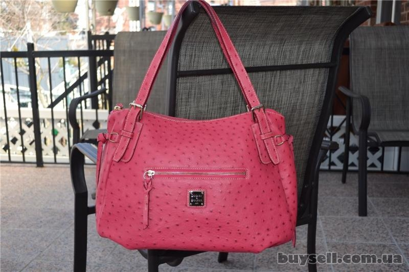 Сумка Dooney & Bourke Ostrich Nina Bag,  оригинал