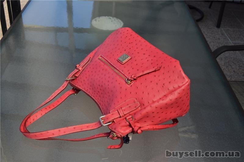 Сумка Dooney & Bourke Ostrich Nina Bag,  оригинал изображение 2