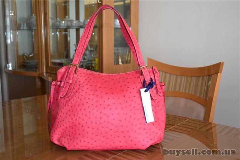 Сумка Dooney & Bourke Ostrich Nina Bag,  оригинал изображение 3
