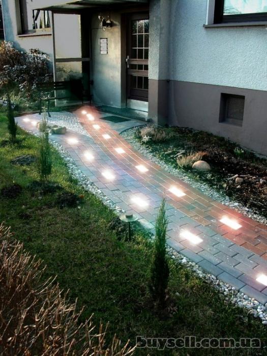 Светодиодная тротуарная плитка изображение 2
