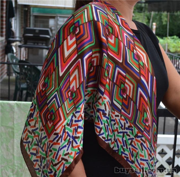Платки MISSONI Women's 100% Silk , оригинал изображение 2