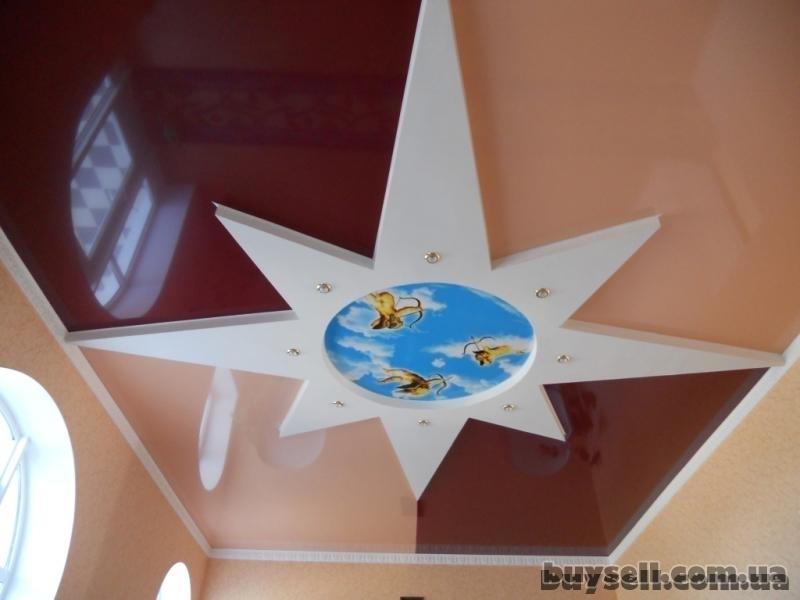 Французские натяжные потолки,     ремонт квартир в Крпыму изображение 3