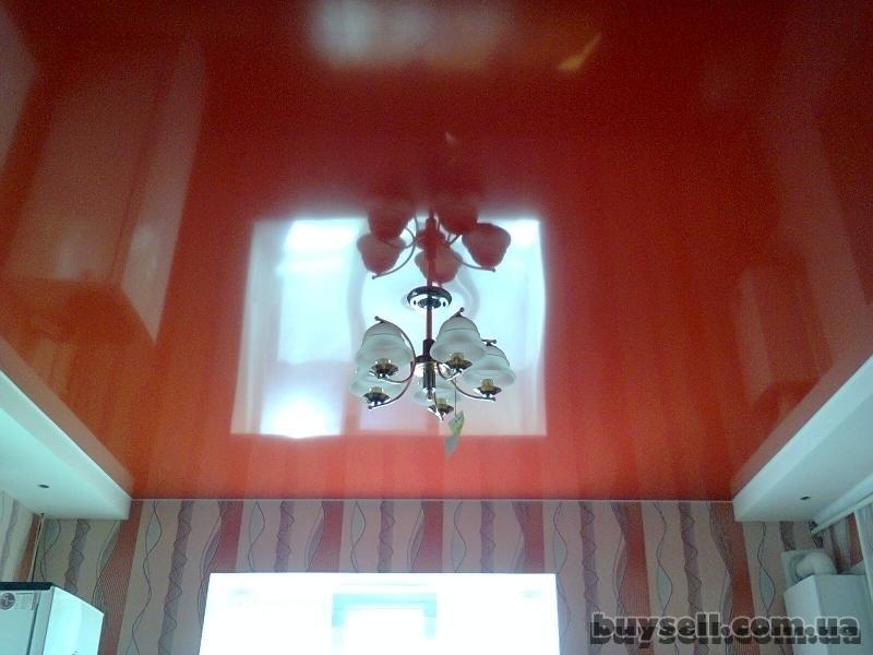 Французские натяжные потолки,     ремонт квартир в Крпыму изображение 4