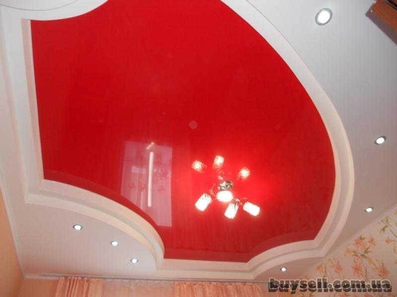 Французские натяжные потолки,     ремонт квартир в Крпыму
